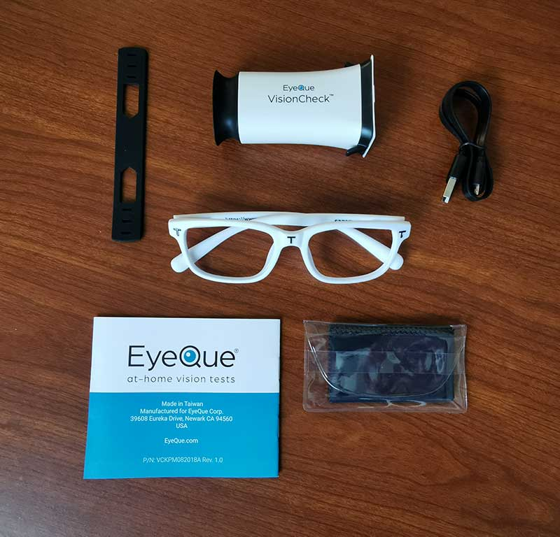 EyeQue VisionCheck Online Review
