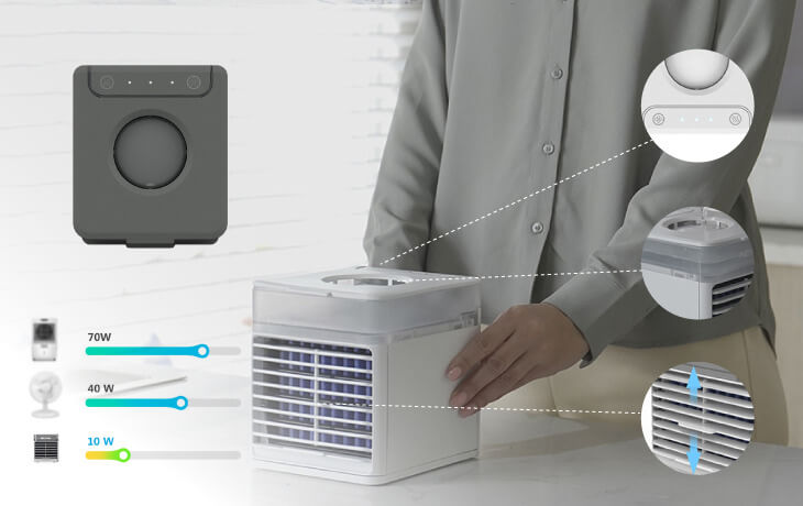 Energy saving with UV Cooler
