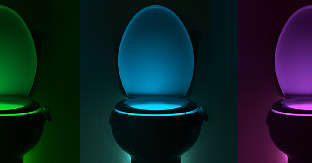 GlowBowl toilet nightlight